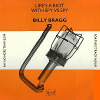 Vinyl Records - Billy Bragg - Lifes a riot