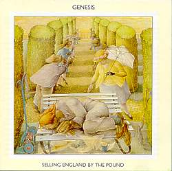 Rare Vinyl Records - Genesis - Selling England by the Pound